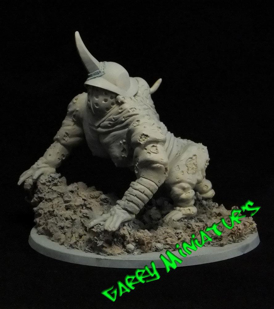 Spawn Plague Daemon 28mm resin figure by Garry Miniatur's