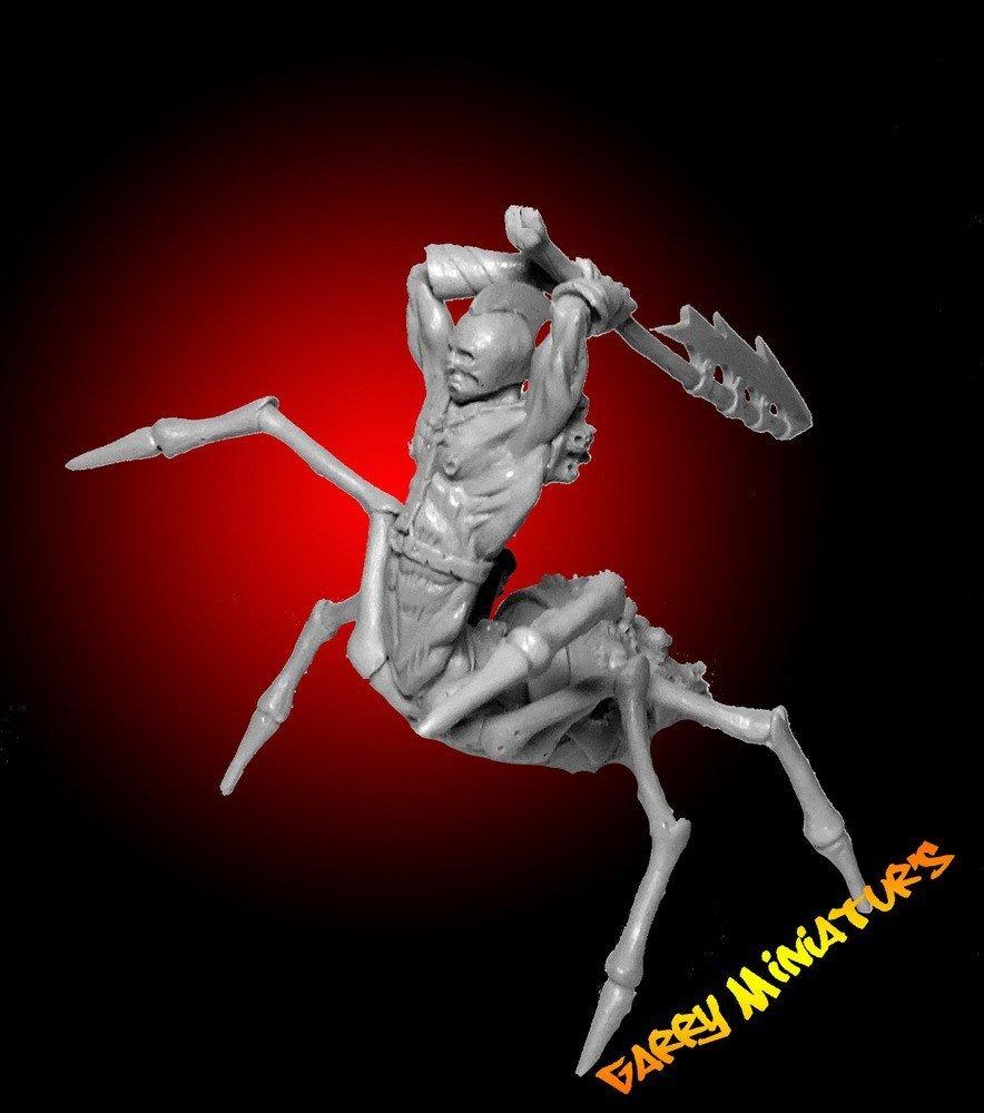 Arachnid/Drider 75mm resin figure by Garry Miniatur's