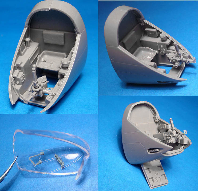 1/48 A-20C Navigator's cockpit, Vector resin: #VDS48-116