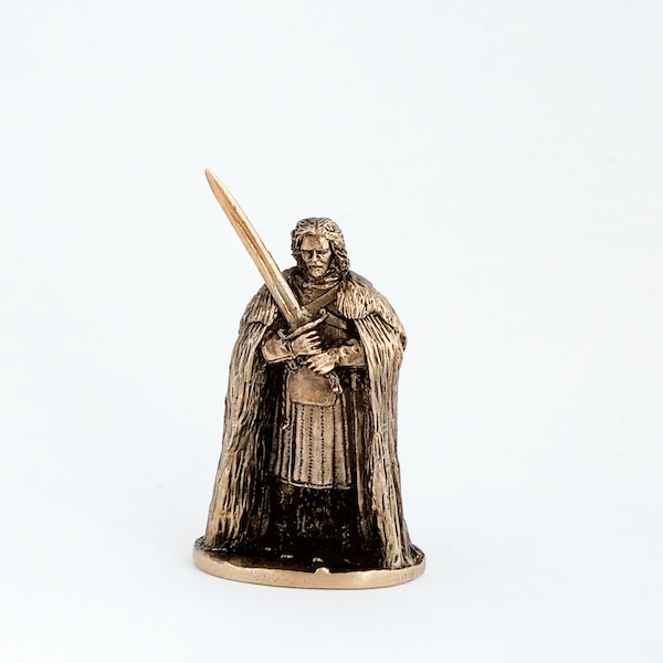 40mm John Snow, Game Of Thrones brass miniature