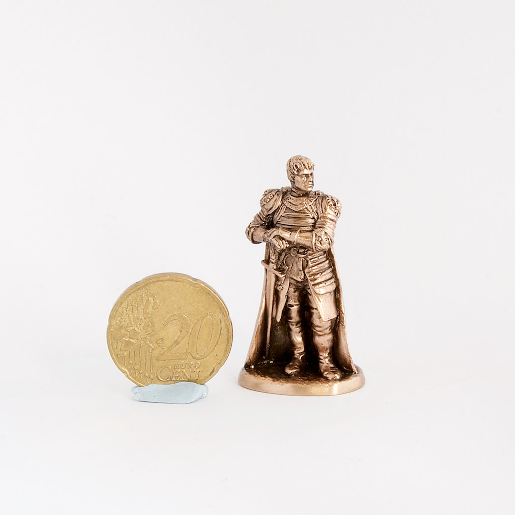 40mm Jaime Lannister, Game Of Thrones brass miniature