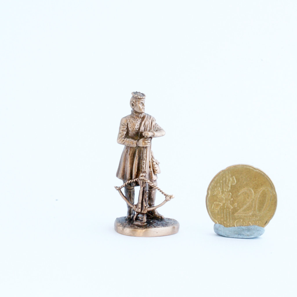 40mm Joffrey Baratheon, Game Of Thrones brass miniature