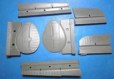 1/48 Tu-2 Control Surfaces Vector resin for Xuntong: VDS48063