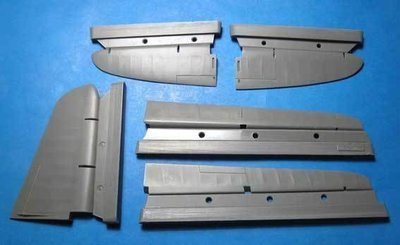 1/48 A-20 Boston/Havoc Control Surfaces Vector resin: VDS48062