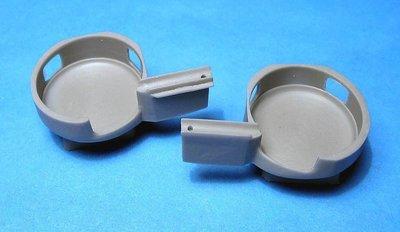 1/48 Su-2 corrected wheel wells Vector resin for Zvezda: VDS48080