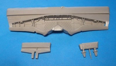 1/48 Fw-190A-3/4 Wheel Well Set Vector resin for Hasegawa: VDS48050