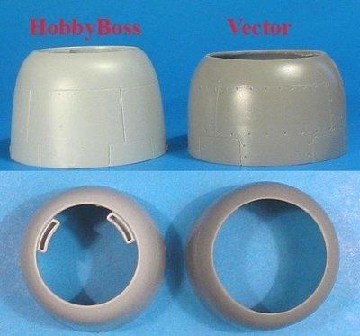 1/48 FM-2 FM-2 Wildcat Correct Cowl Vector resin for HobbyBoss: VDS48023
