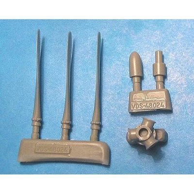 1/48 FM-2 Wildcat Corrected Prop & Spinners Vector resin for HobbyBoss: VDS48024