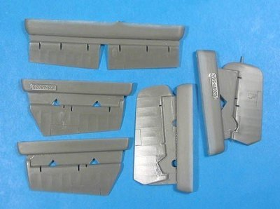 1/48 FM-2 Wildcat Control Surfaces set Vector resin for HobbyBoss: VDS48025
