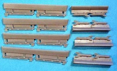 1/48 Soviet WWII RS-82 rockets set Vector resin: VDS48001