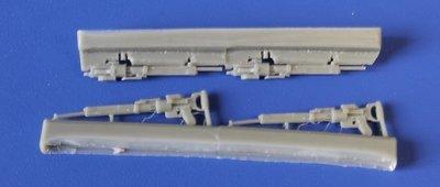 1/48 Soviet WWII ShKAS machine guns set Vector resin: VDS48002