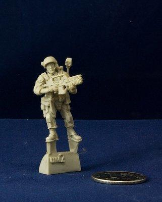 Aliens movie 28mm Colonial Marine miniature UM2
