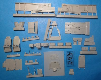 1/32 A-36A Vector Resin for Hobbycraft kit : VDS32010
