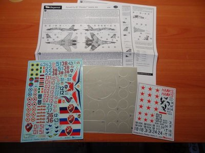 1/48 Sukhoi Su-27 part 1 Decal Begemot