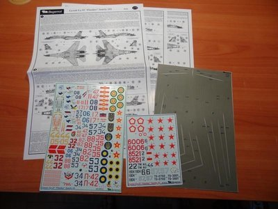 1/48 Sukhoi Su-27 part 2 Decal Begemot