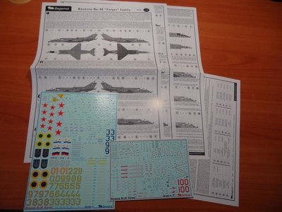 1/48 Yakovlev Yak-38 Forger family Decal Begemot