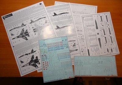 1/72 Sukhoi Su-35S Decal Begemot