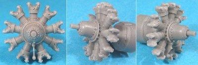 1/72 Bramo-323 Fafnir Engine Vector Resin #72-010