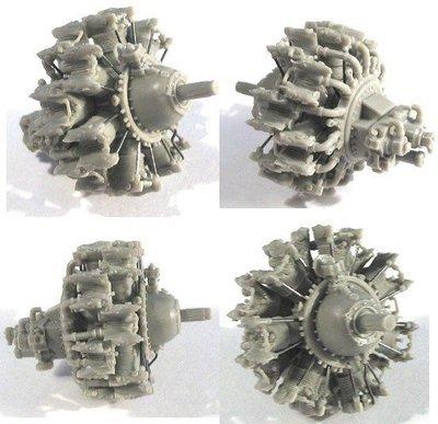 1/48 Pratt & Whitney R-1830 Engine Vector Resin #48-006