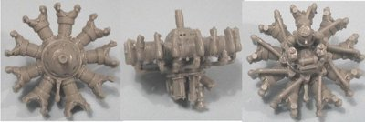 1/48 BMW-132 Engine Vector Resin #48-011