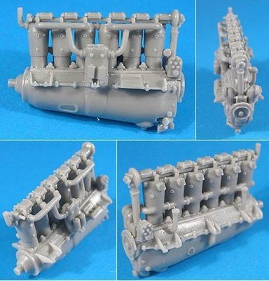 1/48 Mersedes D.III/IIIa Engine Vector Resin #48-018
