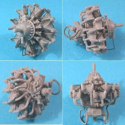 1/48 Mitsubishi Mk2 Zuisei Ha-26/Ha-31/Ha-102 Engine Vector Resin #48-020