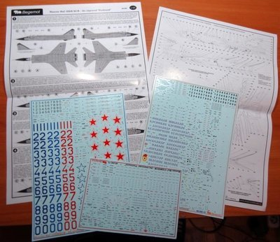 1/48 Mikoyan MiG-31 BM/BSM Foxhound Decal Begemot