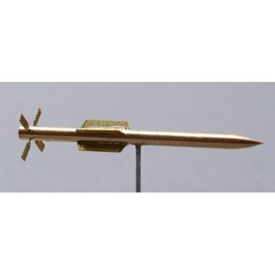 Shelf Oddity 1/144 R-77 (AA-12 Adder) missile metal set