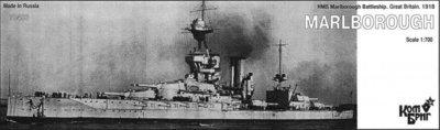 Combrig 1/700 Battleship HMS Marlborough, 1918, resin kit #70403PE