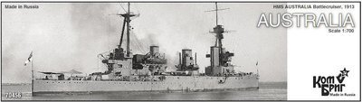 Combrig 1/700 Battlecruiser HMAS Australia, 1913, resin kit #70456PE