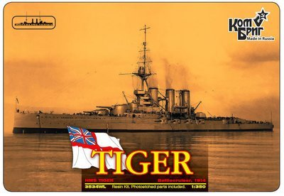 Combrig 1/350 Battlecruiser HMS Tiger, 1914, resin kit #3534FH