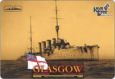 Combrig 1/350 Light Cruiser HMS Glasgow, 1909, resin kit #3545FH