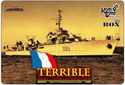 Combrig 1/350 Destroyer Leader Le Terrible, 1936, resin kit #3553FH