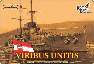 Combrig 1/350 Battleship SMS Viribus Unitis, 1912, resin kit #3554FH