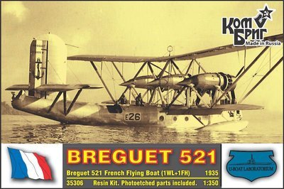Combrig 1/350 Breguet Br.521 Bizerte, resin kit #A35306