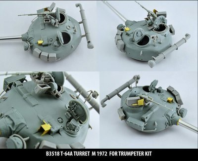 Miniarm 1/35 T-64A Turret m1972, includes PE part
