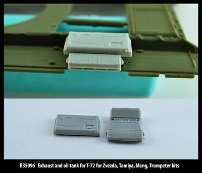 Miniarm 1/35 Exhaust and oil tank for T-72