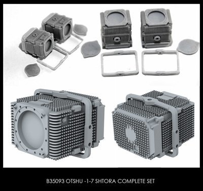 Miniarm 1/35 OTShU -1-7 Shtora complete set