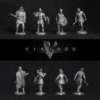 40mm Vikings metal miniatures