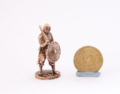 40mm Varyag/Viking Mercenary brass metal miniature