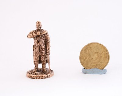 40mm Viking Konung brass metal miniature