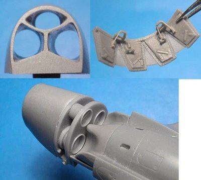 1/48 P-40E/N radiators (Hasegawa) Vector Resin #VDS48-108