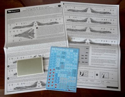 1/72 Su-24M from the Russian VKS in Syria Decal Begemot #72-061