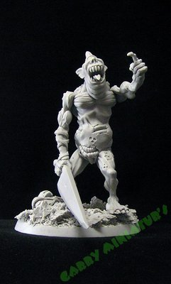 Plaguebearer 75mm resin figure by Garry Miniatur's