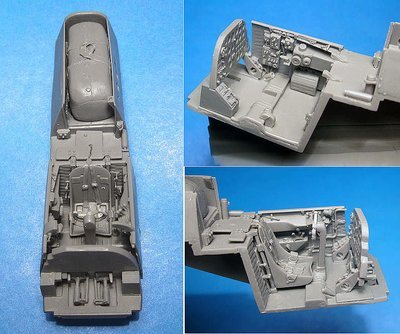 1/48 A-20B/C Havoc pilot's cockpit, Vector resin: #VDS48-117