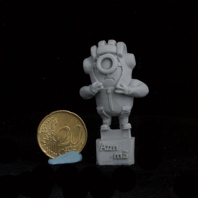 Minion Tankman resin figure