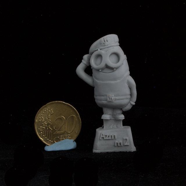 Minion Soviet Marine resin figure
