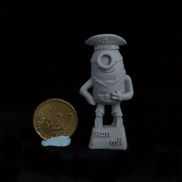 Soviet Navy Sailor Minion resin figure
