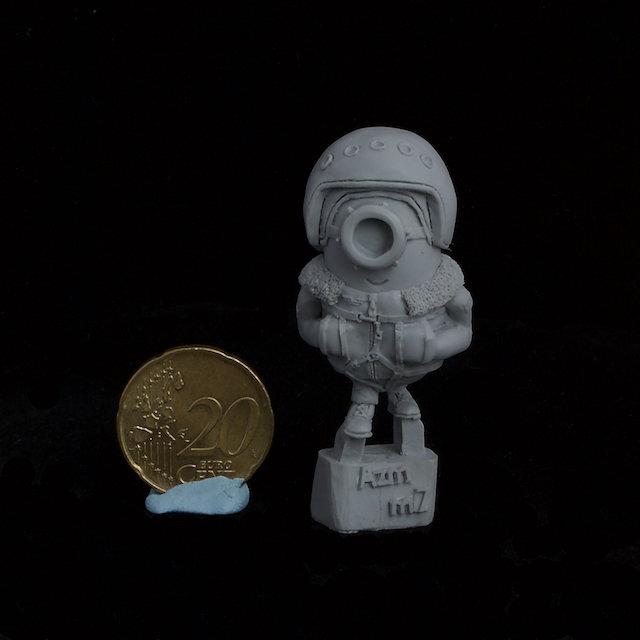 Soviet Pilot Minion resin figure