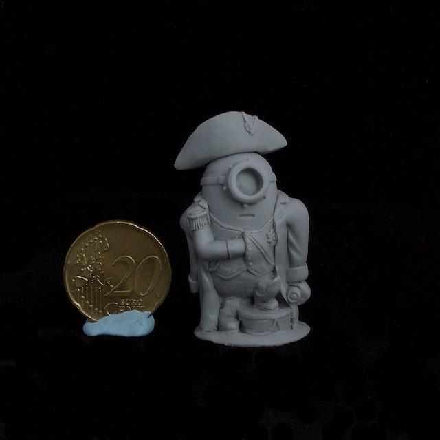 Napoleon Minion resin figure